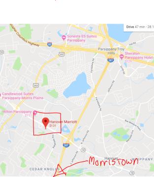 Hanover Marriot - Morristown